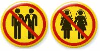 gay marriage icons illegal