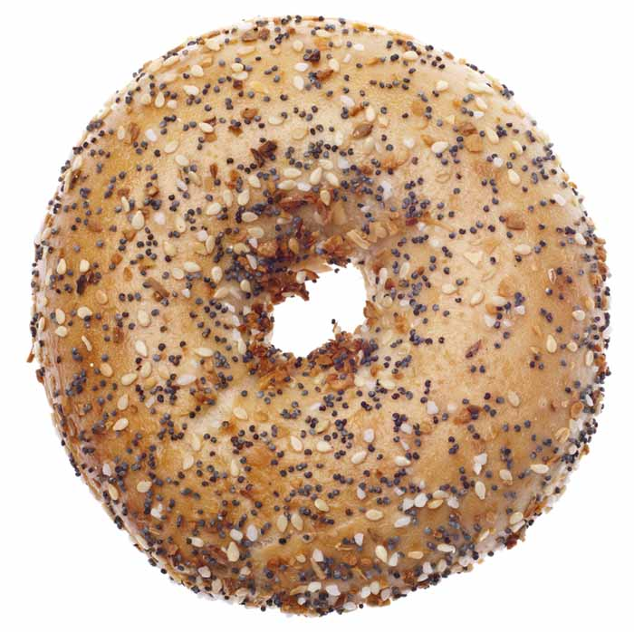 bagel portion size