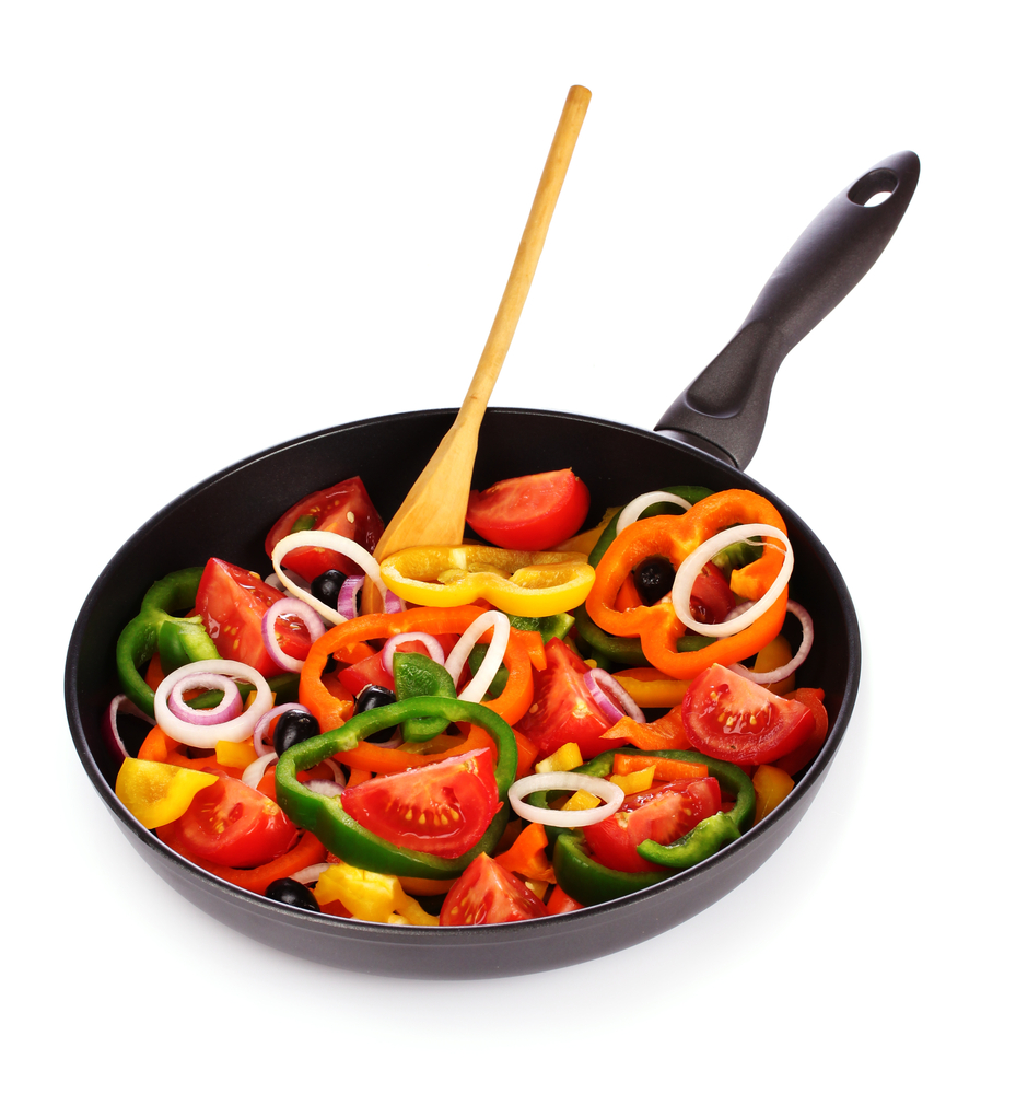 cooked vegetables portion size