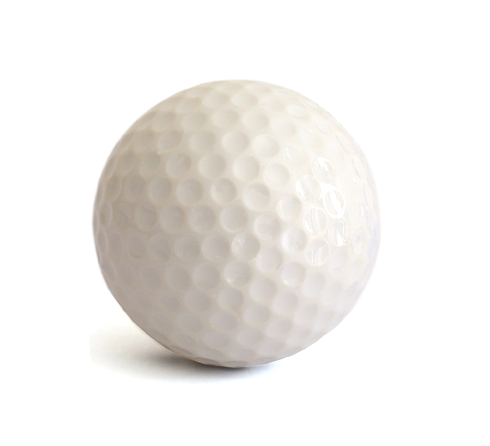 golf ball portion size