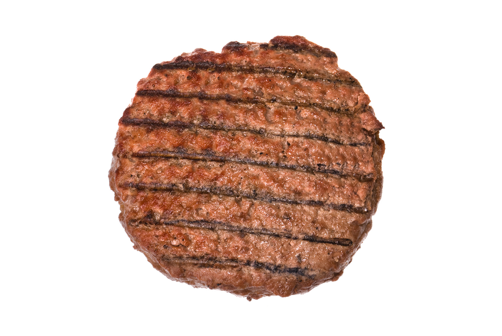hamburger patty portion size