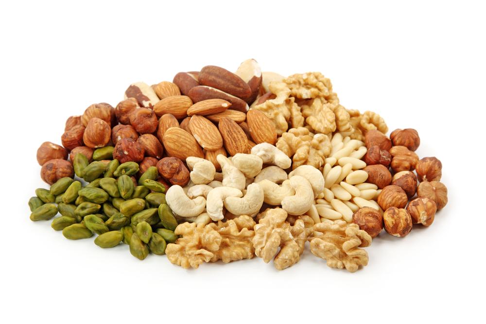 nut portion sizes