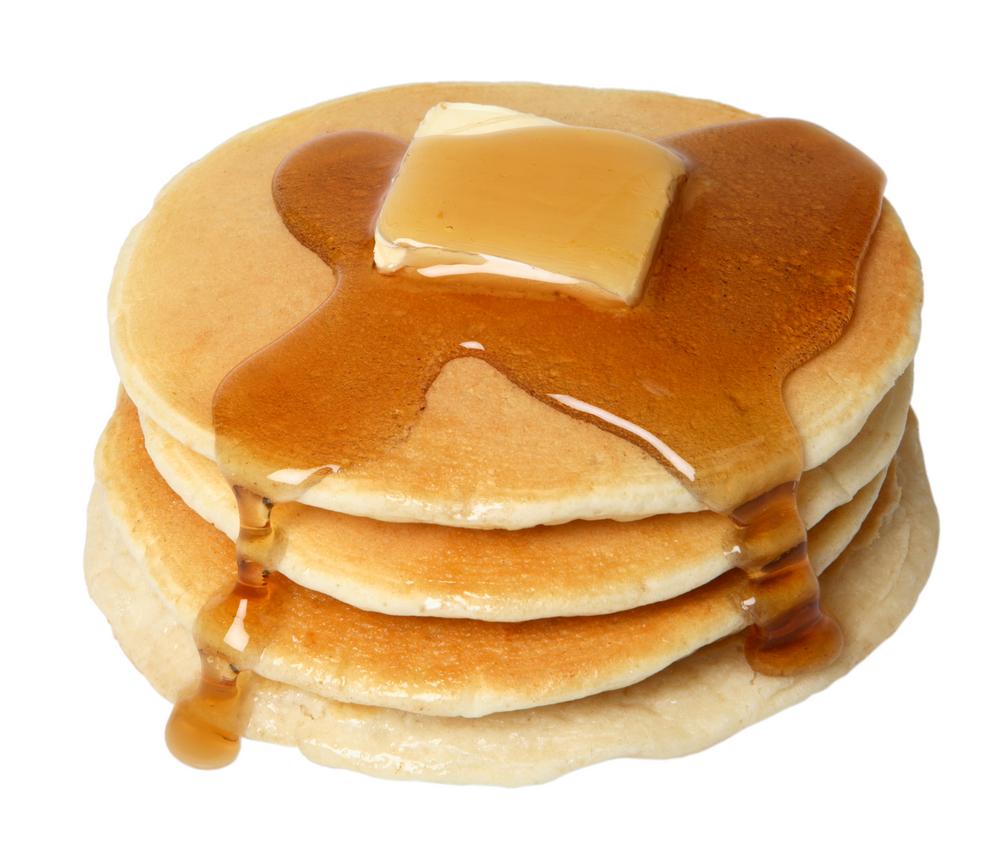 pancake portion size