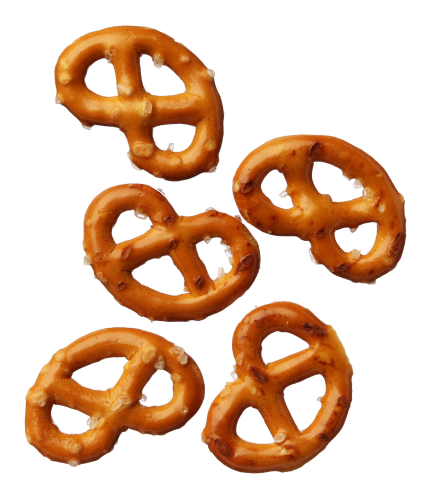 pretzel portion size