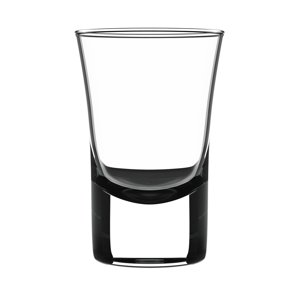 shot glass portion size
