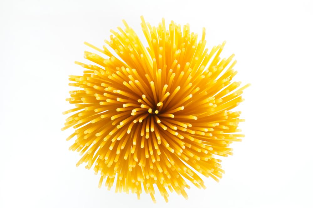spghetti portion size