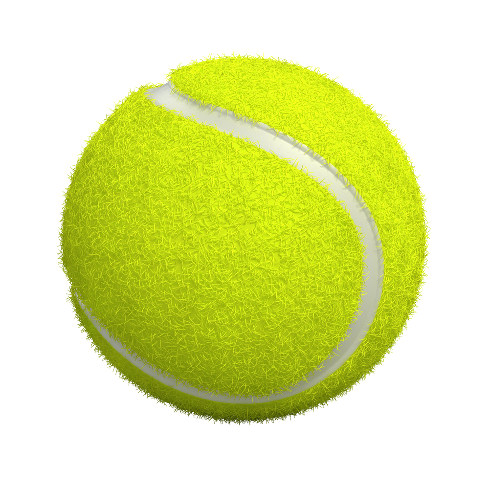 tennis ball portion size