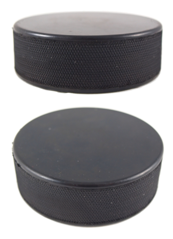 two hockey pucks portion size