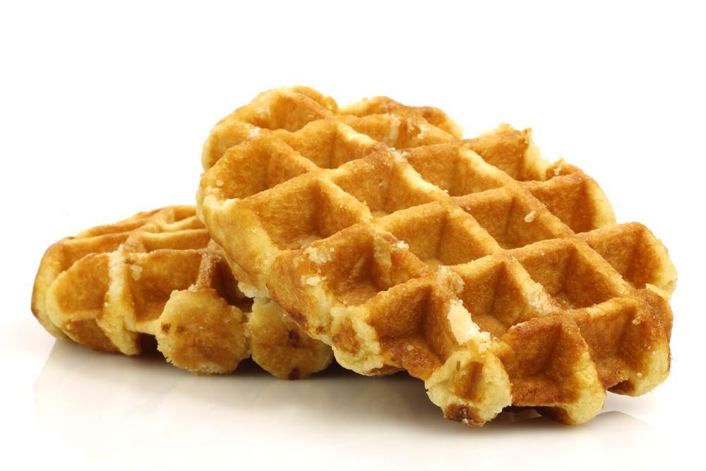waffle portion size