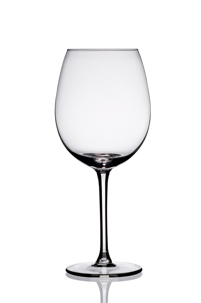 wine glass portion size