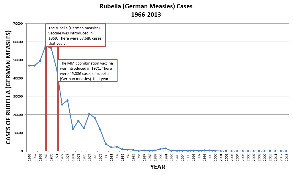 Rubella (German Measles) Cases