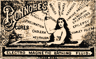 bonnores electromagnetic bathing fluid