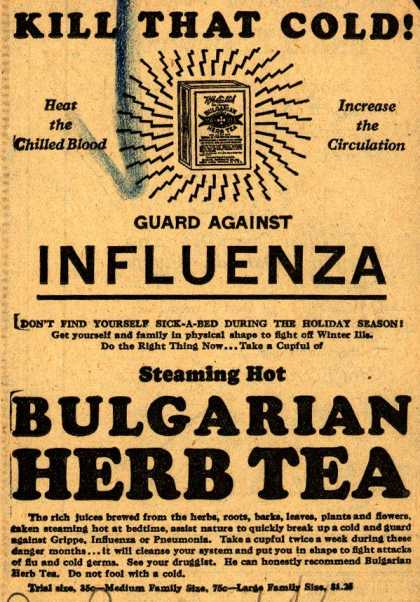 Bulgarian Herb Tea