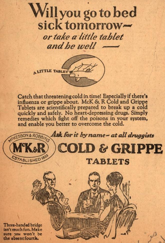 Cold & Grippe Tablets