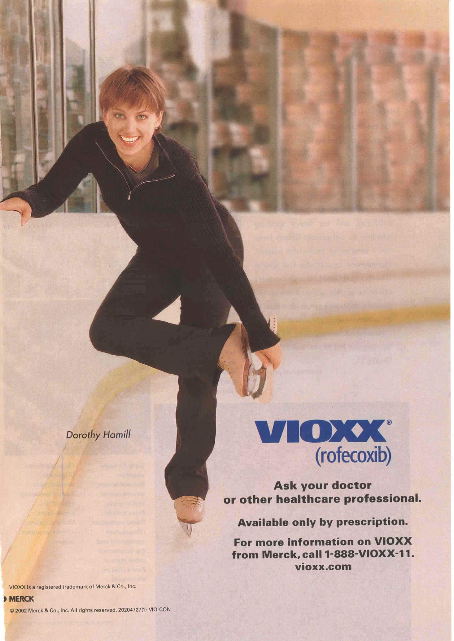 vioxx prescription drug ad