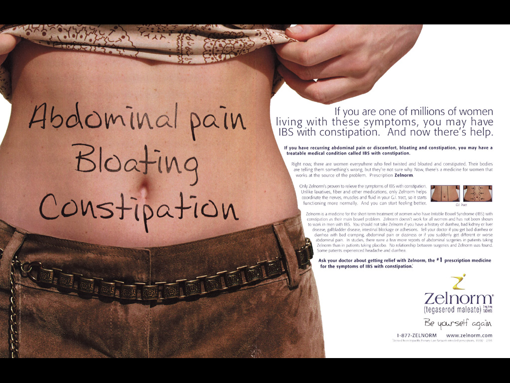 zelnorm prescription drug ad