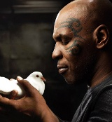 Mike Tyson with Pigeon