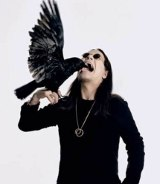 Ozzy Osbourne with Bird