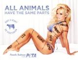 Pamela Anderson Peta PSA