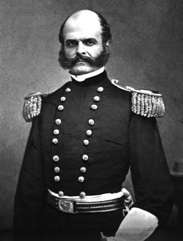 General Ambrose Burnside First NRA President