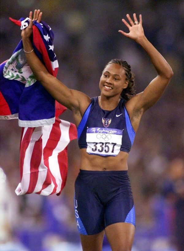 October 2 2000 Marion Jones Track and Field Sports Illustrated A