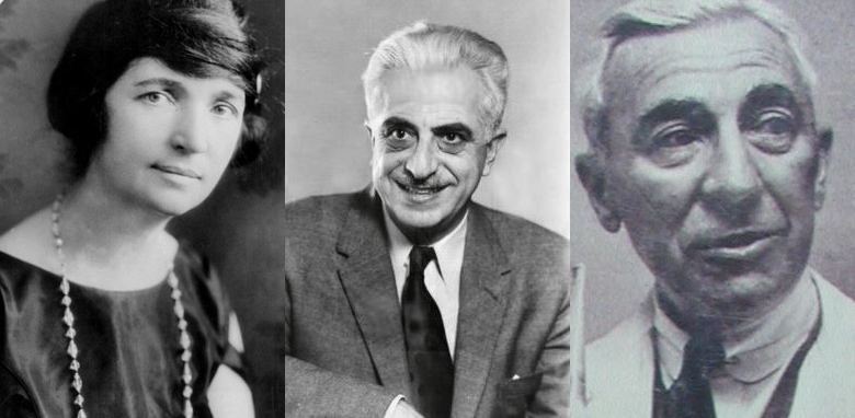 Margaret Sanger, Gregory Goodwin Pincus, and John Rock